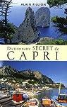 Dictionnaire secret de Capri par Fillion