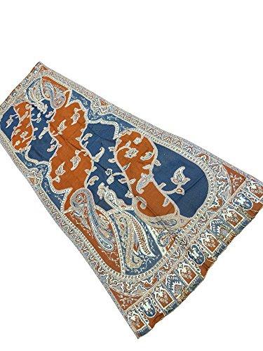 Mogul Blu Mogul Interior Donna Scialle Scialle Donna Interior Blu TTqwrZUxSv