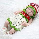 Harpi Reborn Baby Doll 11inch for Kids Boy Newborn Baby Dolls Child Growth Partner Xmas Gift Children Toy (B)