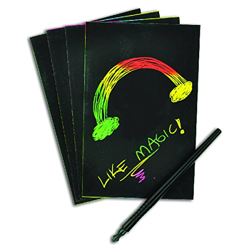 (Magic Rainbow Scratch & Sketch Stationery Sets(Per Dozen))