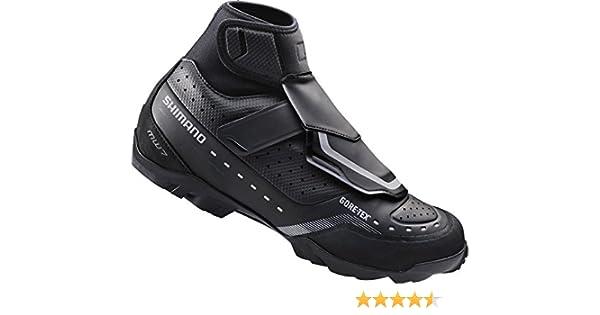 SHIMANO SH-MW7 - Zapatillas MTB - Negro Talla 48 2016: Amazon.es: Deportes y aire libre