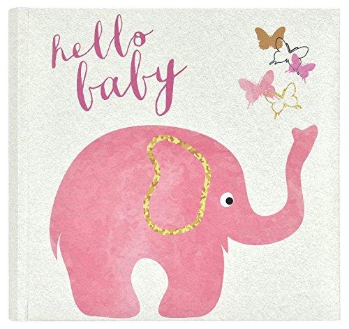- MCS Baby Pink Elephant Photo Album, 8.5 x 8.5,