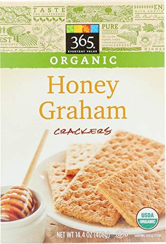 365 Everyday Value, Organic Honey Graham Crackers, 14.4 oz ()