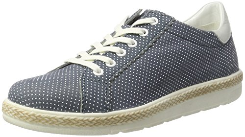 Bugatti Blå Sneakers 455 top jeans Kvinners J97011l Lav gAqwxz4g