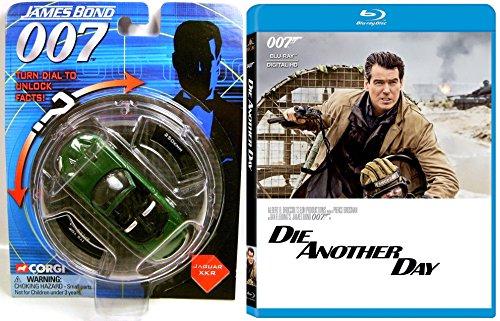 (Die Another Day DVD & James Bond Movie Car Set Pierce Brosnan - JAGUAR XKR)