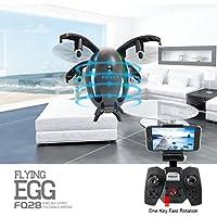 Nibito Wifi Fpv Drone FQ777 FQ28 6-Axis Gyro 2.0MP Camera Quadcopter Egg Shaped