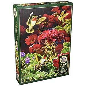 Cobblehill 80091 Puzzle Da 1000 Pezzi Colore Rosso Rubino
