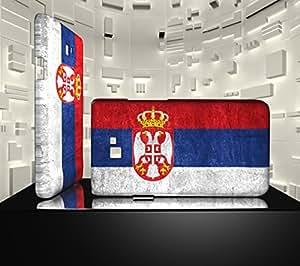 Funda Carcasa para Galaxy S2 Bandera SERBIA 01