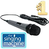 Dynamic Microphone Singing Machine SMM-205 Unidirectional with 10 Ft. Cord (Refurbished)