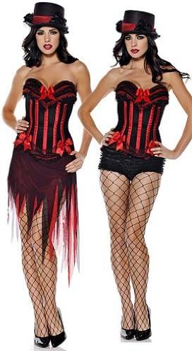 Yuelai Sexy Burlesque Moulin Rouge corsé y tutú – Fancy Dress ...