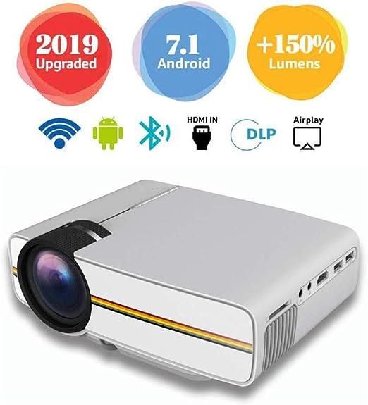 Mini Proyector Cine en Casa Full HD,Proyector HD 1080, Cable AV 3 ...