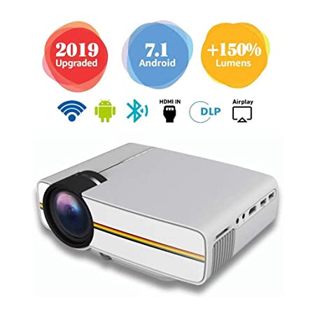 Mini Proyector Cine en Casa Full HD,Proyector HD 1080, Cable ...