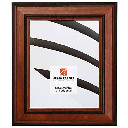 - Craig Frames 80827011 10 by 13-Inch Picture Frame, Wood Grain Finish, 2-Inch Wide, Brown