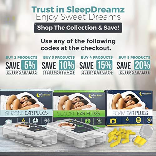 Sonidos Oídos Y 6 Proteger Para Pares Tapones Otros Ronquidos Dormir Los De Que Contra Sleepdreamz® Mejor Fuertes Diseñados Pueda EFWgF67q