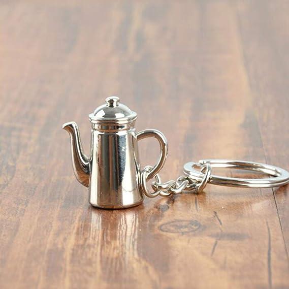 caff/è portafiltro Portachiavi Accessori Portachiavi Portachiavi Auto Portachiavi Afairy Portachiavi di Moda Color : A 1 pz