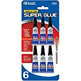 BAZIC 1 g / 0.036 Oz Single Use Super Glue (6/Pack), Case Pack of 144