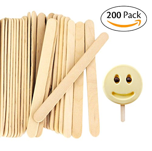 Craft Sticks Wooden Popsicle Sticks, 200