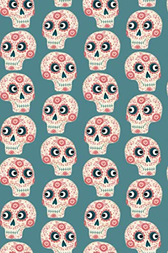 Notes: A Blank Guitar Tab Music Notebook with Sugar Skull Cover Art
