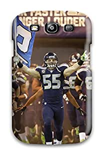 HeatherAPhillips Design High Quality Seattleeahawks (44) Cover Case With Excellent Style For Galaxy S3