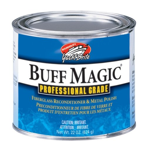 Shurhold Buff Magic Fiberglass Reconditioner & Metal Polish - 22 oz.