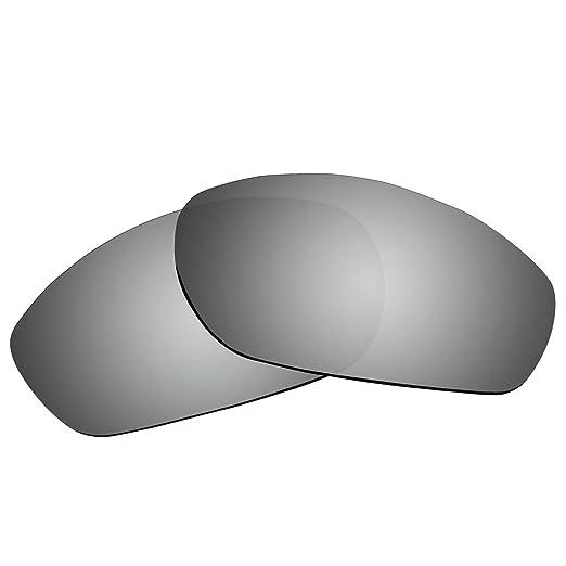 acompatible lentes de repuesto para Oakley Gafas de sol Encounter OO9091, Black - Polarized