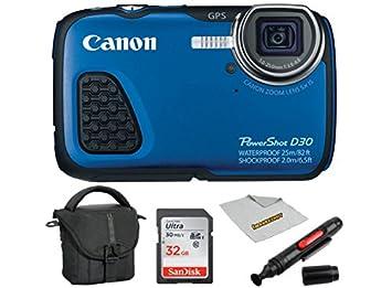 Amazon.com: Canon PowerShot D30 Cámara digital, 32 GB ...