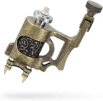 Solong Tattoo Motor de Tatuaje 10000 r/m Fuerte Motor para Linea y Relleno 4.5w Brass Frame CNC Maquina de Tatuaje Rotativa Pistola para Tatuar Arte de Cuerpo: Amazon.es: Belleza