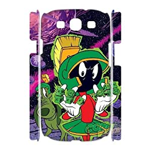 Customized Marvin the Martian I9300 3D Case, Marvin the Martian DIY 3D Case for Samsung Galaxy S3 I9300 at Lzzcase