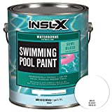 INSL-X WR101009A-01 Waterborne Semi-Gloss Pool Paint 1 Gallon White (Renewed)