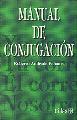 Descargar gratis Manual de conjugacion/ Conjugation Manual PDF 9682467624