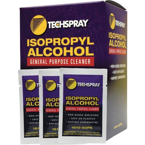 Tech Spray FBA_1610-50PK Alcohol Fragrance Multipurpose Cleaning Wipes, by Tech Spray