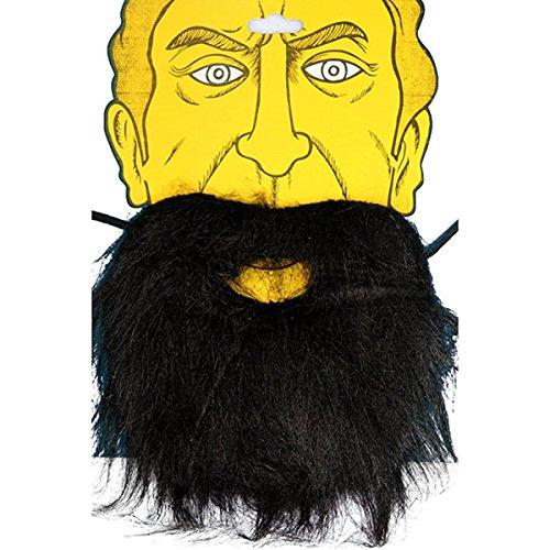 Costumes For People With Beards (WINOMO 2pcs Halloween Costume Fake Beards Black)