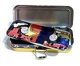 Thomas Triple Layers Pencil Pen Case Metal Box