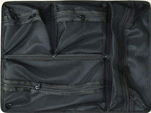 Black /& Lime Green Pelican 1615 air case with Grey CVPKG dividers /& Combo lid Pouch.