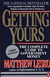 img - for Getting Yours: The Complete Guide to Government Money, Third Edition (Penguin Handbooks) book / textbook / text book