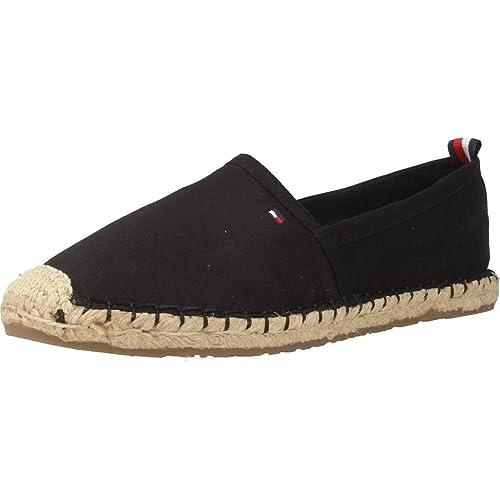 Alpargatas para Mujer, Color Negro, Marca TOMMY HILFIGER, Modelo Alpargatas para Mujer TOMMY HILFIGER INT Lana 11D Negro: Amazon.es: Zapatos y complementos