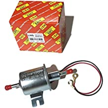 Inline universal fuel pump use on Kohler Kubota Kawasaki Grasshopper Gravely and more