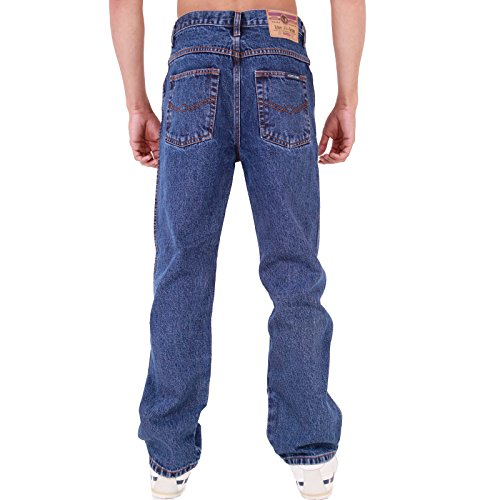 Dritta Resistente Regular Jeans Fit Gamba Da Aztec Uomo Stonewash Base wBHxx