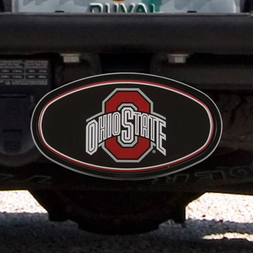 WinCraft Ohio State University S66388 Oval 2 Hitch Receiver