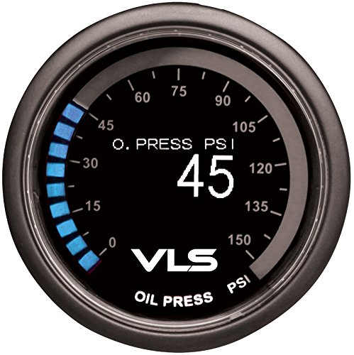 Tanabe 1TR1AA004 Revel VLS Oil Pressure Gauge, 52mm by Tanabe