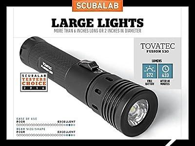 Tovatec Fusion Video LED Dive Light by Tovatec