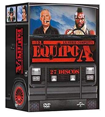 Pack: El Equipo A - Serie Completa [DVD]: Amazon.es: George ...