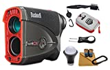 Bushnell Pro X2 Laser Golf Rangefinder 201740 and Wearable4U All-In-One Golf Tools Bundle