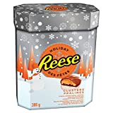 REESE Peanut Butter Clusters, Christmas Chocolate Candy, 386-Gram
