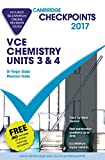 Cover of Cambridge Checkpoints VCE Chemistry Units 3 and 4 2017 and Quiz Me More