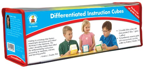 Carson-Dellosa Publishing Differentiated Instruction Cubes (Tactile Cube)