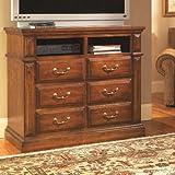 Progressive Furniture Torreon Media Chest, Antique Pine