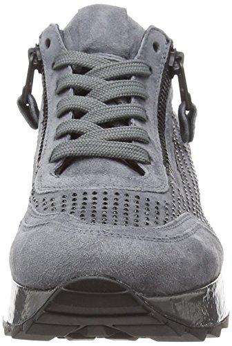 Kennel 399 basalt black Cat Mujer Zapatillas Gris Und Schmenger Sohle Basalt Para 7qryP7OxCw