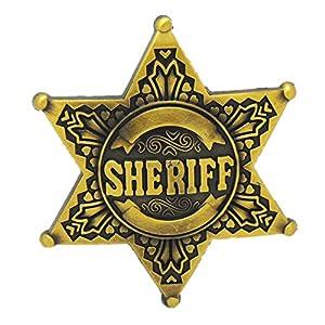 Sheriff Star Vintage House Targaryen Blank Lot Men Leather Belt Buckle Gifts