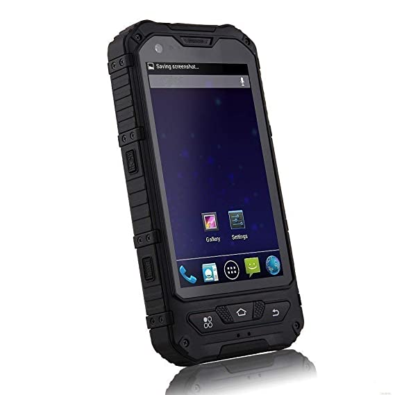 newest 6b781 6a880 IP68 Waterproof Smartphone Dustproof Shockproof Durable Rugged Mobile Phone  Unlocked Cell Phone with NFC (Black)